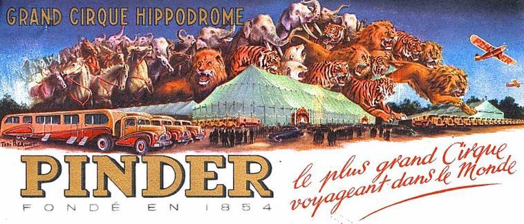 Affiches Pinder .