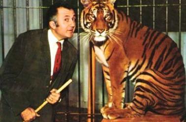 Jean Richard , un vrai passionné de cirque .
