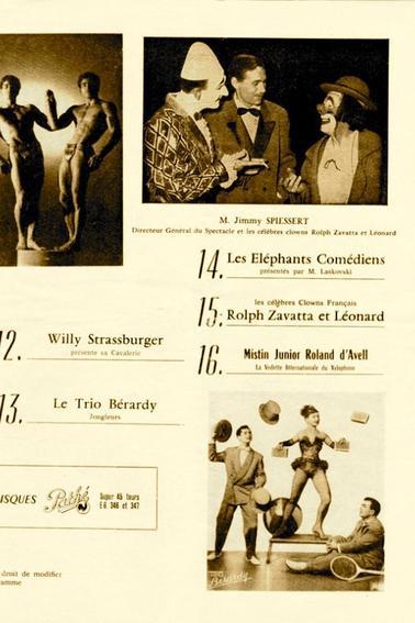 Tournée de 1959 avec Luis Mariano .