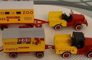 Les Dodges du ZOO Pinder .