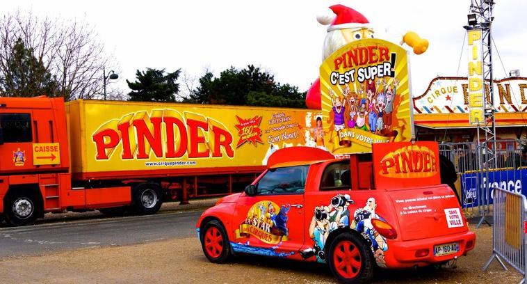 Pinder à Paris , Hiver 2016-2017 . Partie 2
