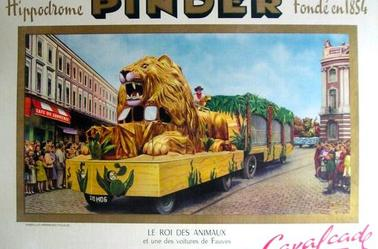 La Cavalcade Pinder à travers les époques . Partie 1