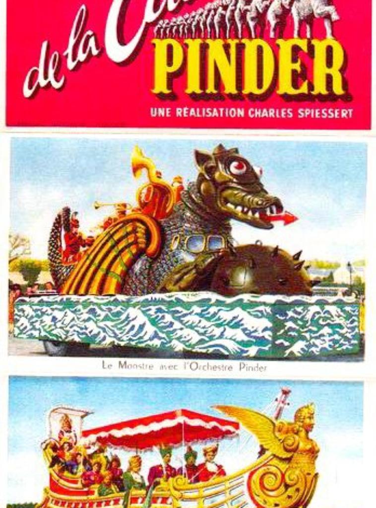 La Cavalcade Pinder à travers les époques . Partie 3