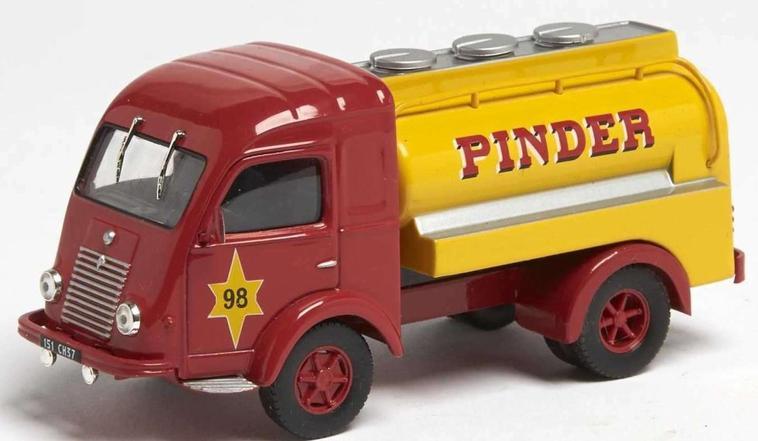 Les camions citernes Pinder .