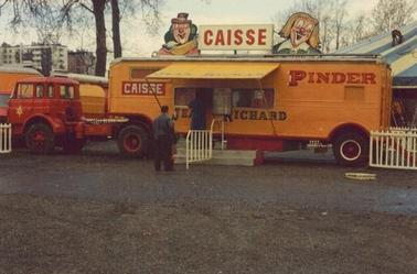 Pinder-Jean Richard à Toulouse en 1975