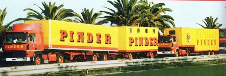Le cirque Pinder en Tunisie en 1992 .