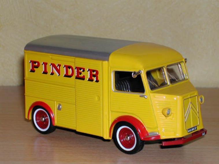 Les différents Citroen Type H Pinder .