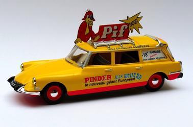 Pif Gadget au cirque Pinder.