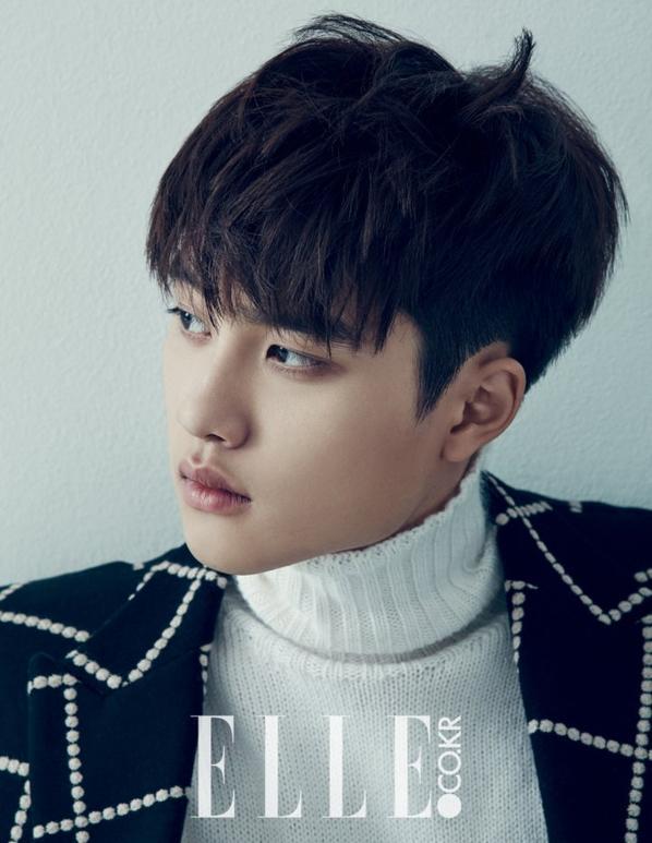 KyungSoo pour Elle Korea