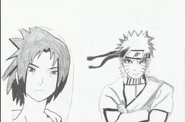 Mes Dessins Du Manga Naruto Manga And Co