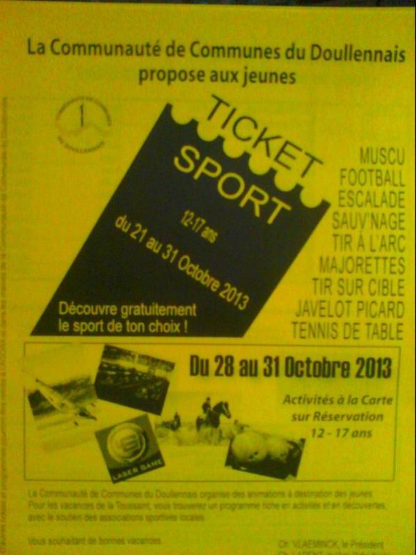 Ticket Sport 2013