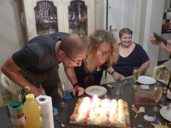 Soirée anniversaire de moi et reynald