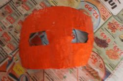 masque vénitien en création...