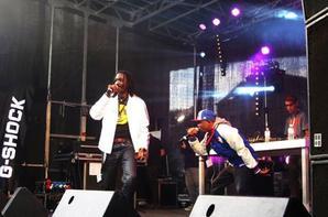 Festival Expressions Urbaines 2013 à Bruxelles, pour les 30 ans du Hip Hop Belge. NICOTEEN & Kaysee Montejano sur scène. Très beau concert! Merci la belgique !!! #QueDesRuls #OneLove #GloryOnline #ThankLord #UniverseVibration #Reflex