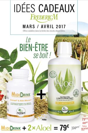 Les promotions des mois de Mars et Avril 2017 sont là