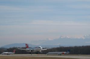 Sous le ciel bleu de Genève.....