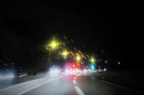En route ....pour rentre  chez moi...