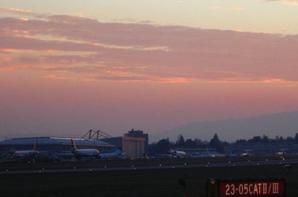 Au coucher de Soleil...le Port..