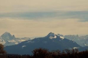 Les Alpes et le Mont Blanc...de chez moi...