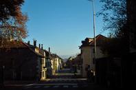 Mon Ferney-Voltaire au Soleil d'automne....