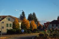 En route ....entre Segny et Ferney-Voltaire...