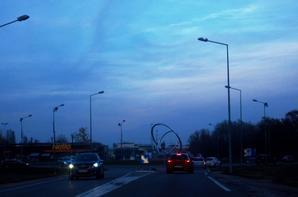La route...