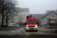 Brouillard automnal en ville.....