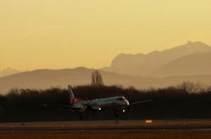 Au Soleil de matin....la piste...