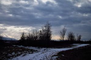 Le temps hivernal...