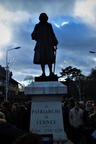 Sous le regard de notre Patriarche....