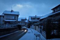 La neige....et la ville...