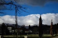 La neige est partie....