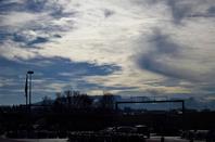 La ville au Soleil d'hiver....