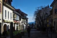Une belle journée hivernale...la ville...