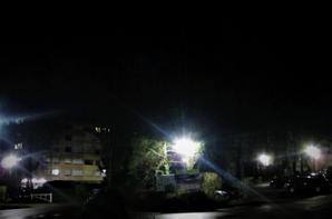 Lumières de la ville....