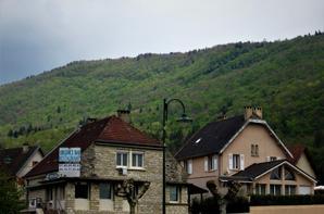 A la sortie de village....