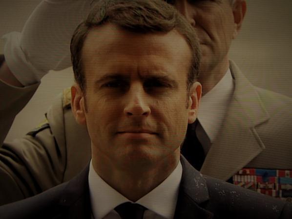 Très présidentiel au son de la Marseillaise...Emmanuel...
