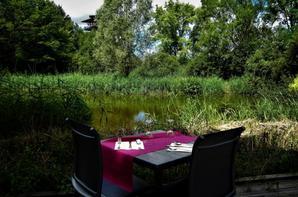 Midi....déjeuner au bord de l'eau...