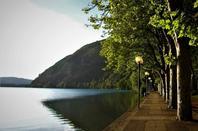 Au bord du lac....Nantua...