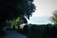 La vu sur la Jura et la ville.....