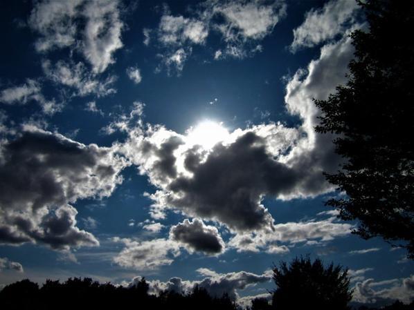 Au Soleil de septembre....la piste....