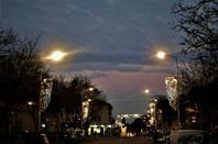 Ciel du soir.....la ville....