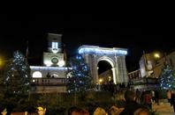 Illumination de la ville...Oyonnax en fête...