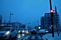 Oyonnax en hiver...