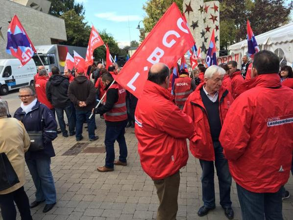 Manifestation Grande Région Schengen