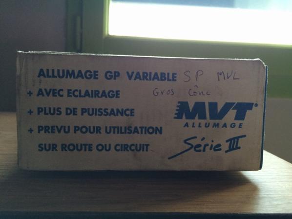 Allumage MVT a vendre