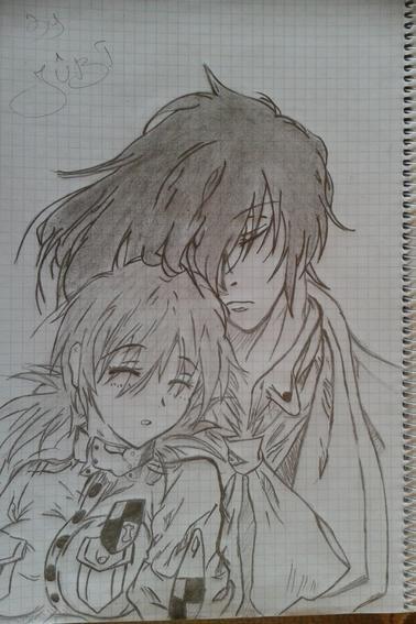 Mes autre dessin que j'adore *W*