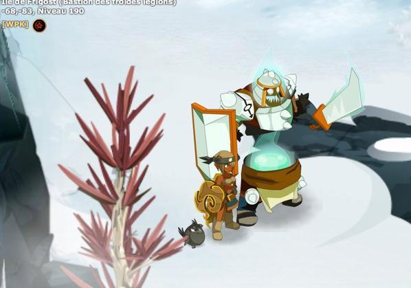 Glourdorak  / chevalier de glace