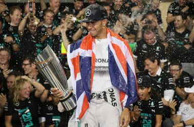 Lewis Hamilton Is A 2014 F1 World Champion