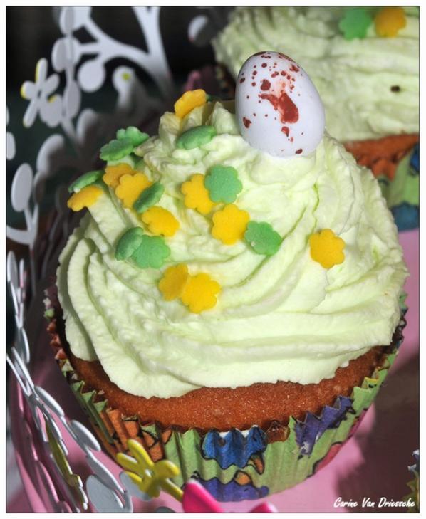 Mes Cupcakes de pâques :)
